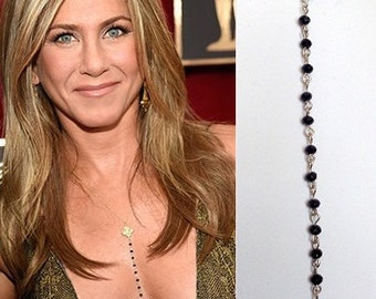 Necklace Of Jennifer Aniston,Celebrity Inspired Necklace - Jennifer Aniston Necklace,celebrity jewelry