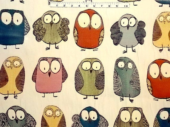 owl home decor fabric items similar to owls valance swavelle mill creek give a 11687
