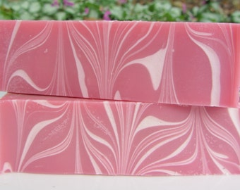 Pink Sugar Handmade Cocoa Butter Cold Processed Soap