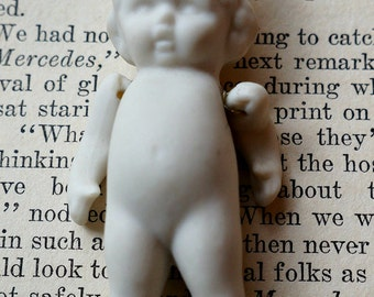 Darling Mini Bisque Doll with moveable arms