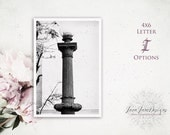 Letter I Photo | Name Picture | Letter Photograph | I Love You Sign Anniversary Gift | Romantic Custom Keepsake | Individual Letter Art