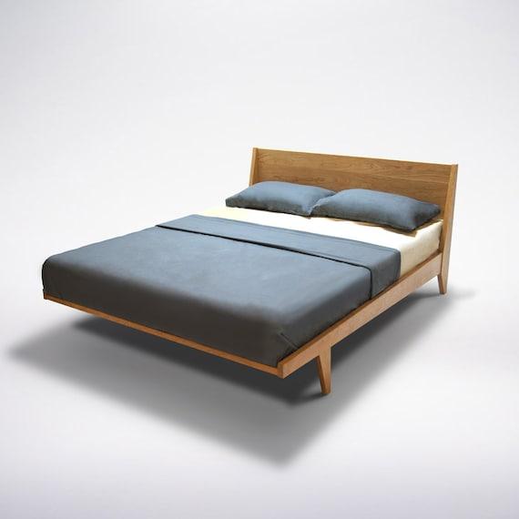 Mid Century Modern Bed: Modern Platform Bed Cherry Mid Century Modern Danish Solid