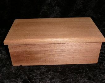 Custom Mahogany Box - back in stock