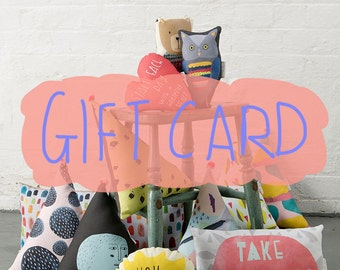 NICOLA ROWLANDS gift card