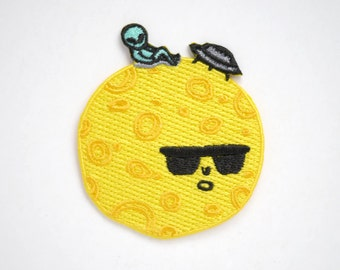 Moon Lounger Iron On Patch