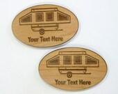 Pop Up Camper Personalized Magnets, Pop Up Camping Trailer, Pup Camper, Travel Trailer, Camping Decor, Cabin Decor, Caravan, Camp, Boondock