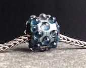 MruMru big hole Bead.Handmade lampwork beads. Sra
