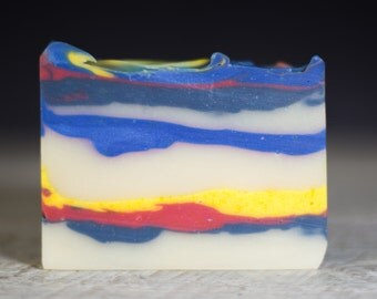 Island Escape | Cold Process Soap | Handmade Soap | Natural Soap | Fatty's Soap Co.