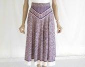 Vintage 70's Gunne Sax Boho Skirt