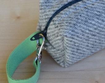 Striped Wool Tweed Mini (Pacifier Pouch)