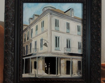 Napoleon house painting, french quarter realism painting