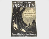 1990s Dracula history book / 90s history book / In Search of Dracula History Book with Edward Gorey Cover