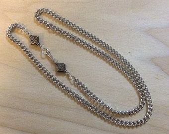 Mens Silver Necklace, Men's Heavy Chain, 26 inch chain, 28 Inch Chain, 30 Inch Chain, Mens Jewelry,