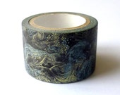 Inner Taiwanese Landscape : Japanese Washi Masking Tape One Roll (Large) = The Significant Travel