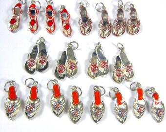 Lot of 20 Women's Fashion Shoe Charms