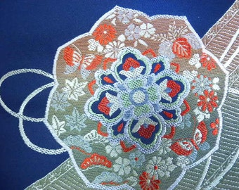 Vintage fabric S264, fabric, supplies,