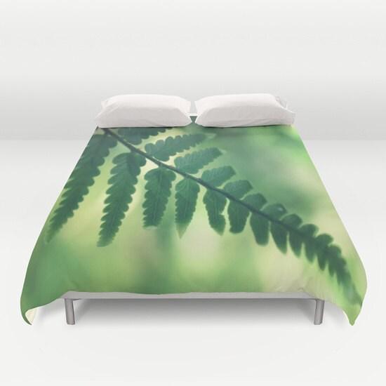 housse de couette feuille tropique tropical linge de lit. Black Bedroom Furniture Sets. Home Design Ideas