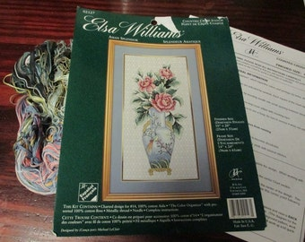 Elsa Williams Counted Cross Stitch Kit Asian Splendor JCA 02127 Complete and Ready to Stitch