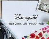 Self Inking Address Stamp, Address Stamp, Custom Address Stamp, Return Address Stamp, Personalized Gift - 1018