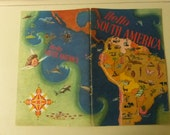 Vintage Booklet Hello South America by Mildred Celia Letton from National Dairy Council
