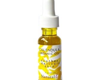 Calendula Oil/ ORGANIC CALENDULA OIL/ Calendula Infusion/ Calendula Serum