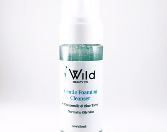 Gentle Foaming Facial Cleanser with Chamomile and Blue Tansy/Normal to Oily Skin