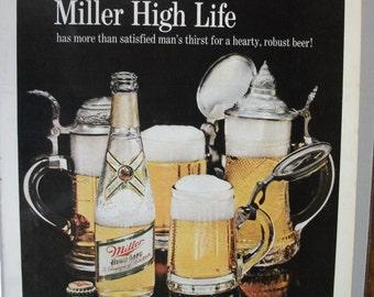 136 Miller Beer Ad - 1967