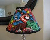 Avengers super heros lamp shade