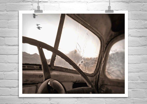 Old Truck Picture, Sepia Farm, Rural Art, Farm Truck, Truck Photographs, Ford Truck, Vintage Trucks, Surreal Art, Black and White