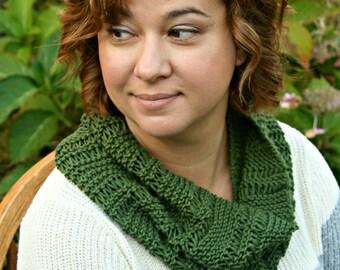 PATTERN Knit 'Amanda' Cowl PATTERN