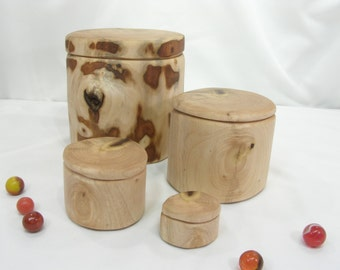 Oregon Myrtlewood Nesting Boxes, Set of 4 Wooden Boxes, family gift, wedding anniversary gift, wedding party gifts, jewelry box, Wood Urn