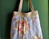Vintage Floral Handbag Purse Shoulder Bag