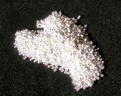 15/0 Bright Sterling Plated (Like DB 551) Miyuki seed bead, 5 gram bag, Color# 15-961