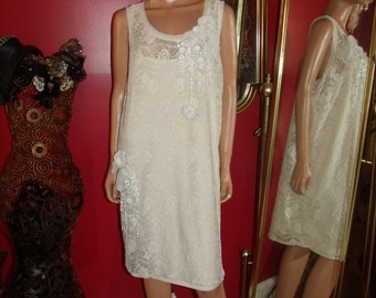 Vintage Lace  Dress Flapper  does 20-30s Theme  Tea Party  Size 1X