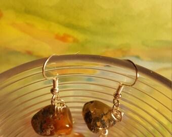 Double Agate Earrings