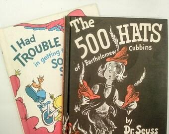 Classic Dr. Seuss books - set of 2 - large format