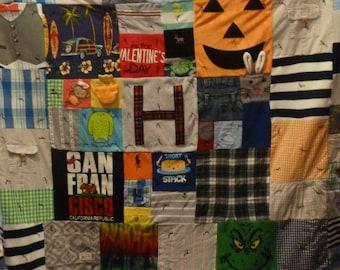 Custom Made Patchwork Quilt