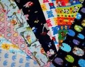 Value set fabric scrap  total of 8 pieces animal print Bx3