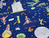 Le Petit Prince Print 50  cm by 106   cm or 19.6 by 42 inches Half meter