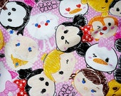 Disney Character  Disney tsum tsum fabric Print half meter