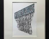 Queens New York Fine Art Framed Archival Print