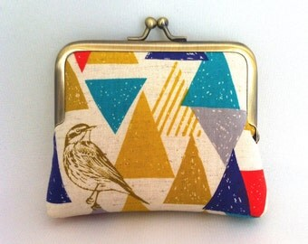 Bird Triangle Coin Purse