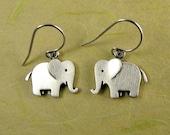 Tiny elephant earrings