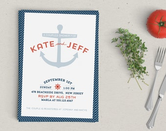 Nautical Shower Invitation