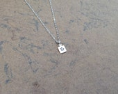 Silver Star  Necklace  Super Tiny