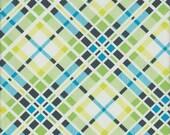 Free Spirit Fabrics Denyse Schmidt Florence Multi Plaid in Malachite - Half Yard