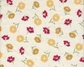 Quilting Treasures Laura Ashley Heidi Cream Floral - Half Yard