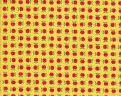 Moda Fabrics Apple Jack Apples in Red and Yellow - Half Yard