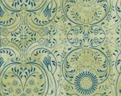In The Beginning Fabrics Bohemia Wildflowers in Jade -  Half Yard