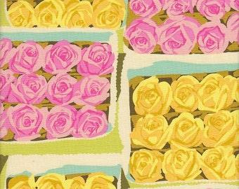 Rowan Martha Negley Flower Garden Boxed Dozens in Grass - Half Yard
